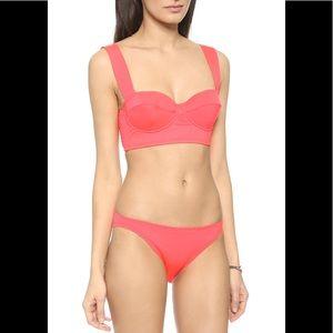 Kate Spade Georgica Beach Bralette Bikini sz M/L